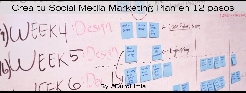 duro limia 12 pasos para crear tu plan de social media