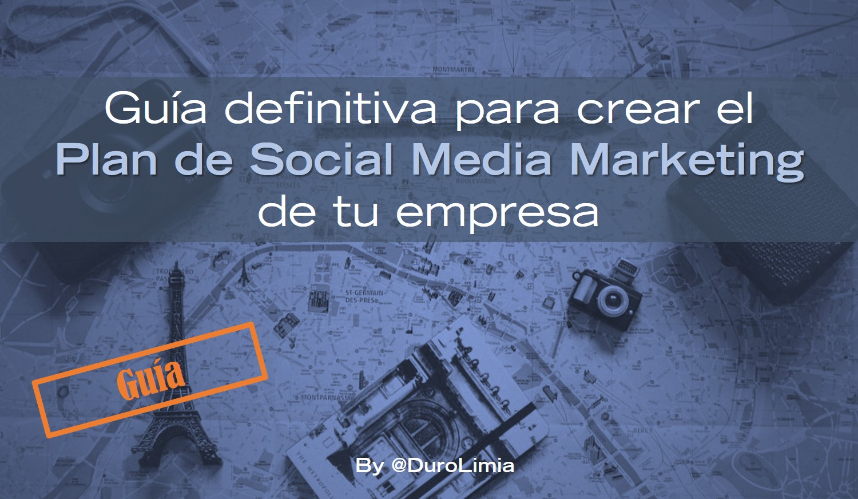 Plan Social Media Marketing por Sonia Duro Limia