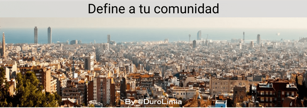 duro limia define a tu comunidad