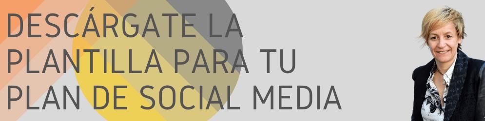 duro limia plantilla gratis plan de social media marketing