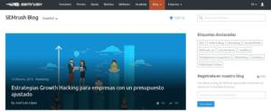 blog corporativo semrush