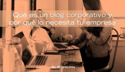 que es un blog corporativo