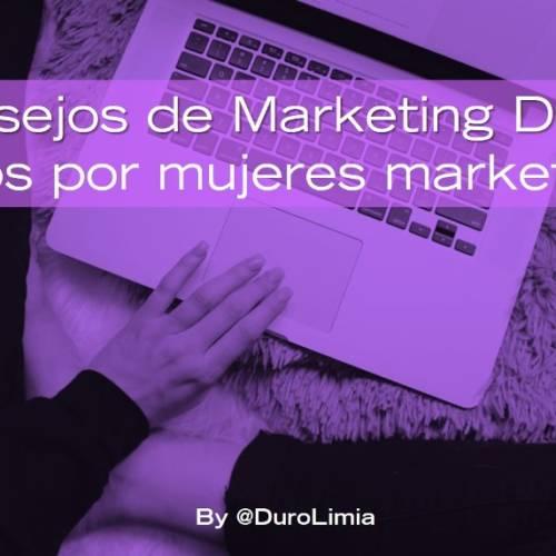 Consejos de Marketing Digital dados por 17 mujeres marketeras