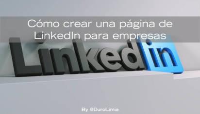 crear pagina LinkedIn para empresas