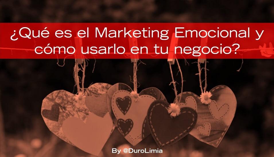 duro limia qué es marketing emocional