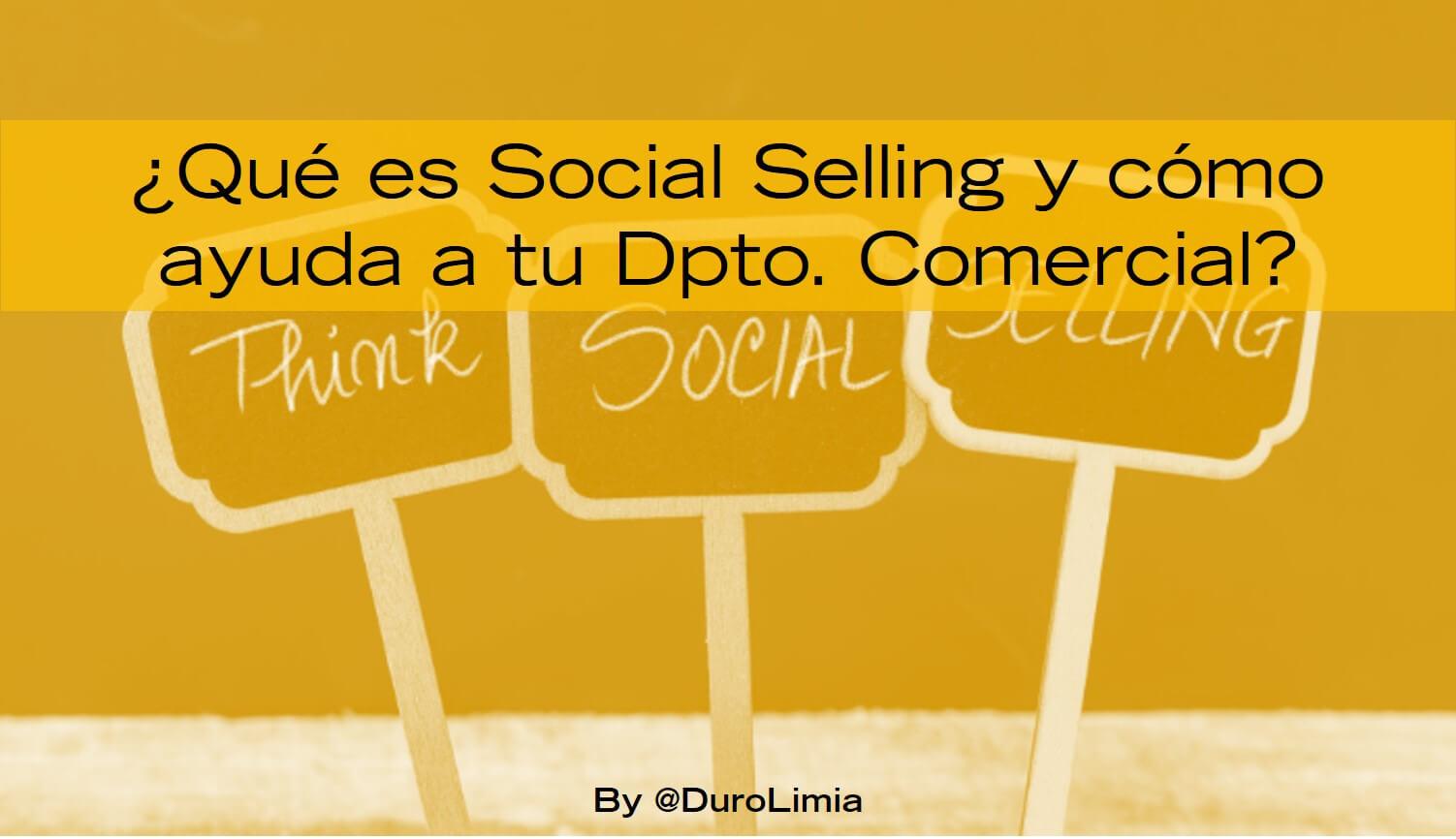 que es el social selling