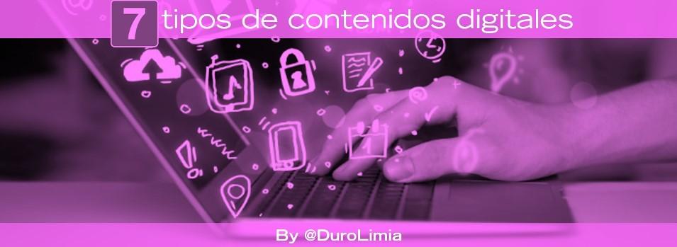 tipos de contenidos digitales