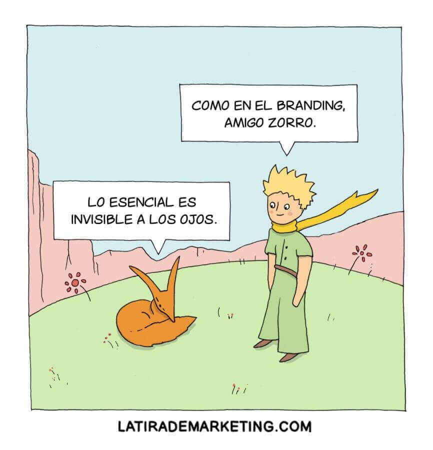 la tira de marketing ejemplo