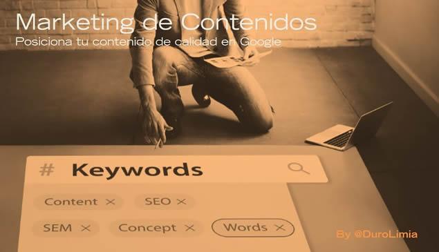 Sonia Duro Limia - Marketing de Contenidos - Posicionamiento Web