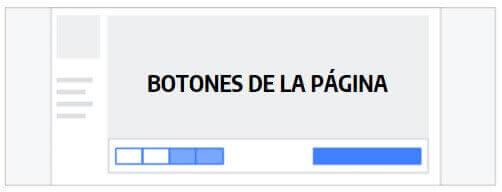 botones paginas facebook