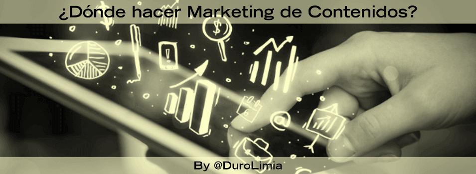 donde hacer marketing de contenidos