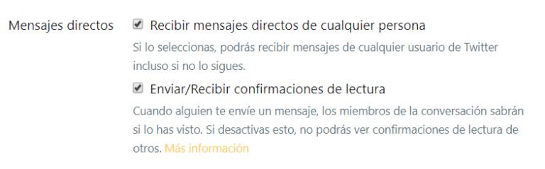 crear cuenta twitter DM