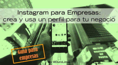 duro limia instagram para empresas