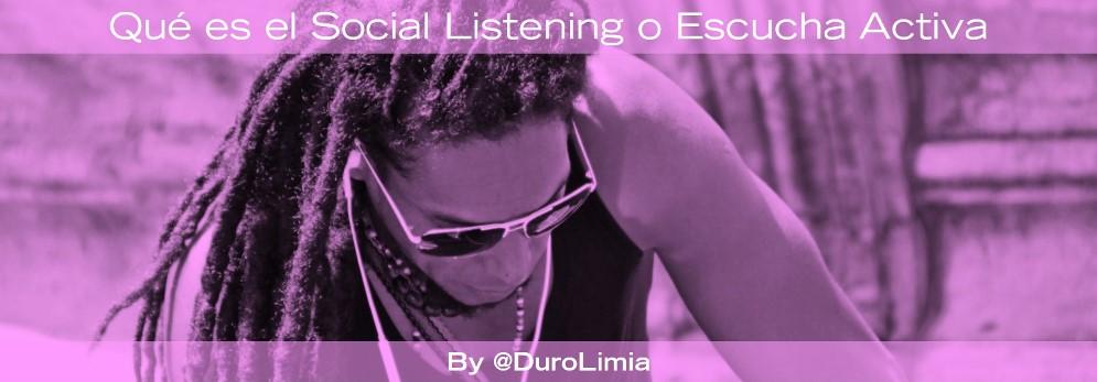 que es social listening o escucha activa