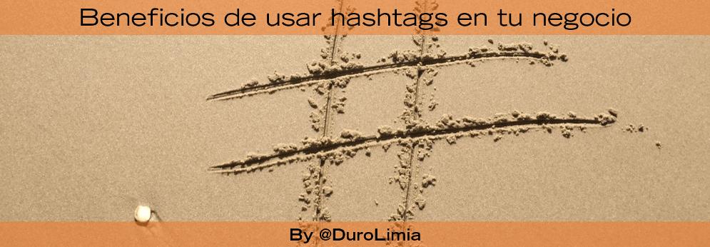 beneficios de usar hashtags