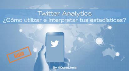 duro limia estadísticas twitter analytics