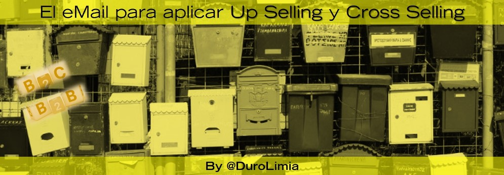 emial para las tecnicas de cross selling y up selling