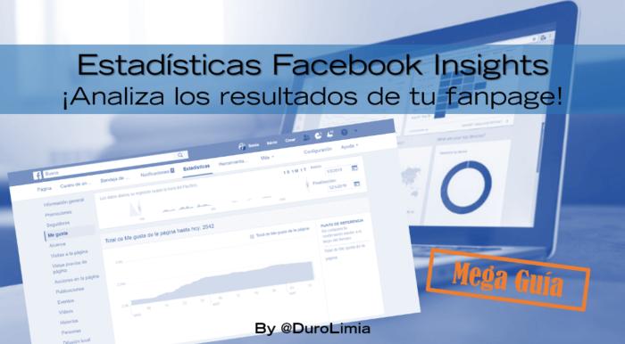 estadisticas facebook insights