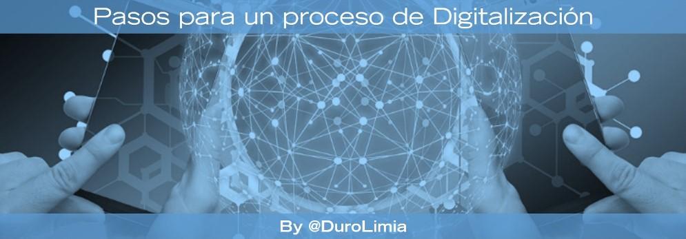 pasos para la digitalizacion de una empresa