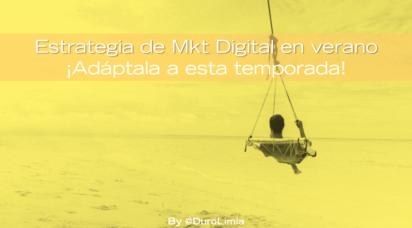 estrategia de marketing digital en verano