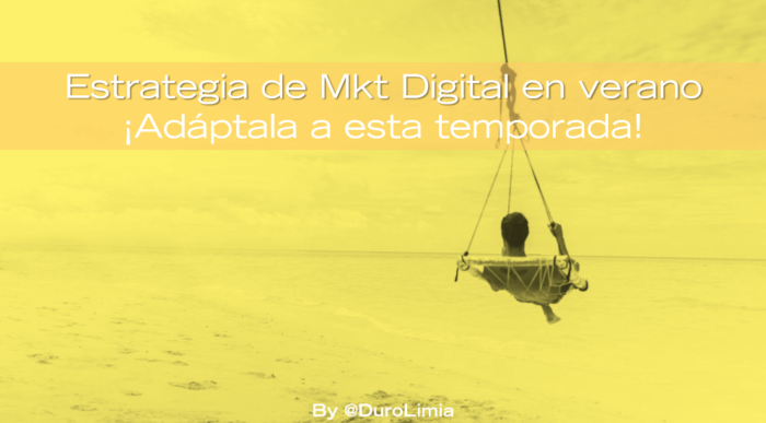 estrategia de marketing digital en verano
