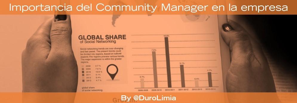 importancia del community manager para una empresa