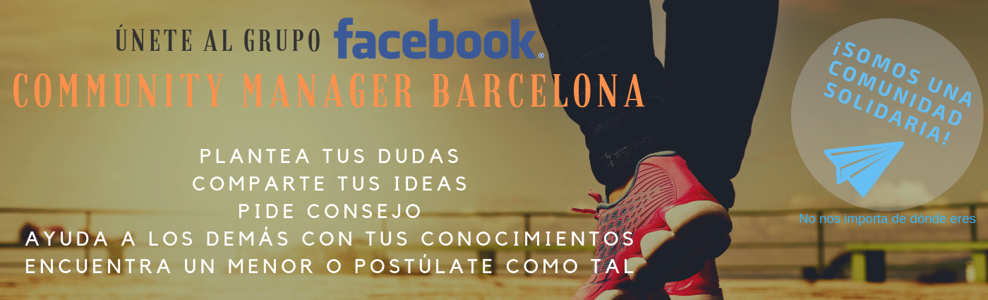 grupo de facebook community manager barcelona