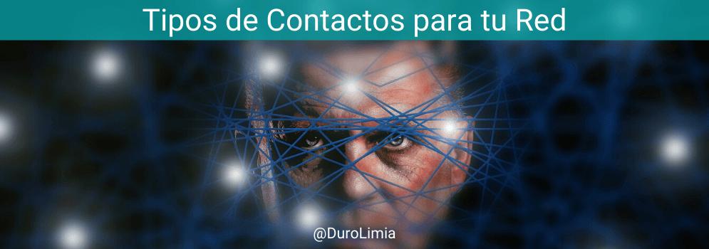 tipos de contactos para una red de contactos