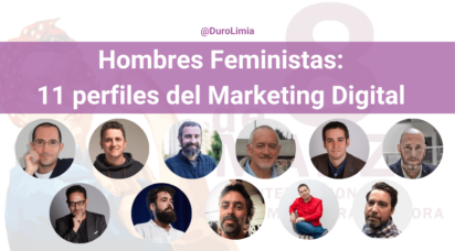 hombres feministas del marketing digital
