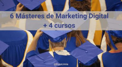 los mejores masteres marketing digital