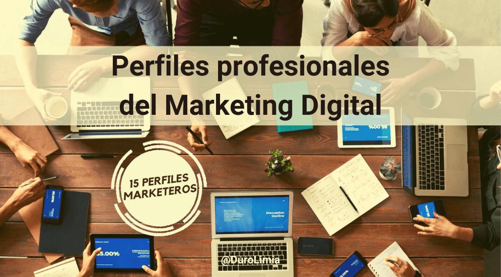 Sonia Duro Limia - Conoce los principales 15 perfiles profesionales del Marketing Digital