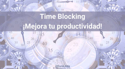 time blocking para emprendedores sonia duro limia