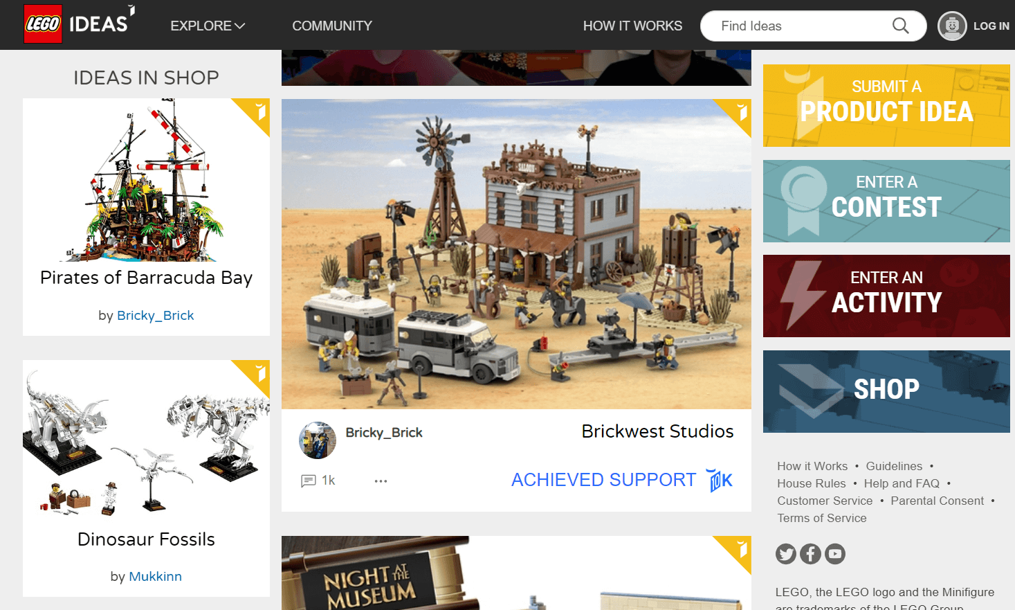 lego ideas ejemplo de crowdsourcing