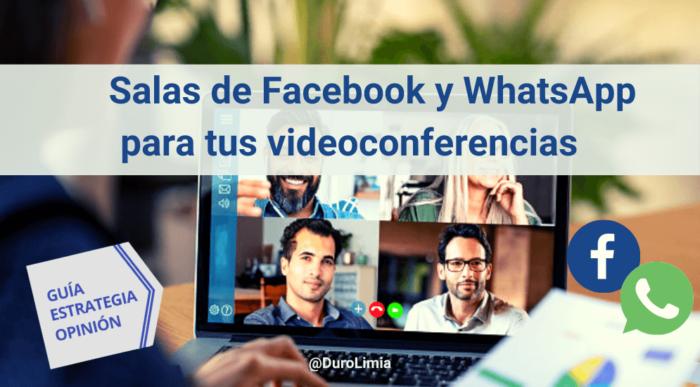 salas de facebook y salas de whatsapp