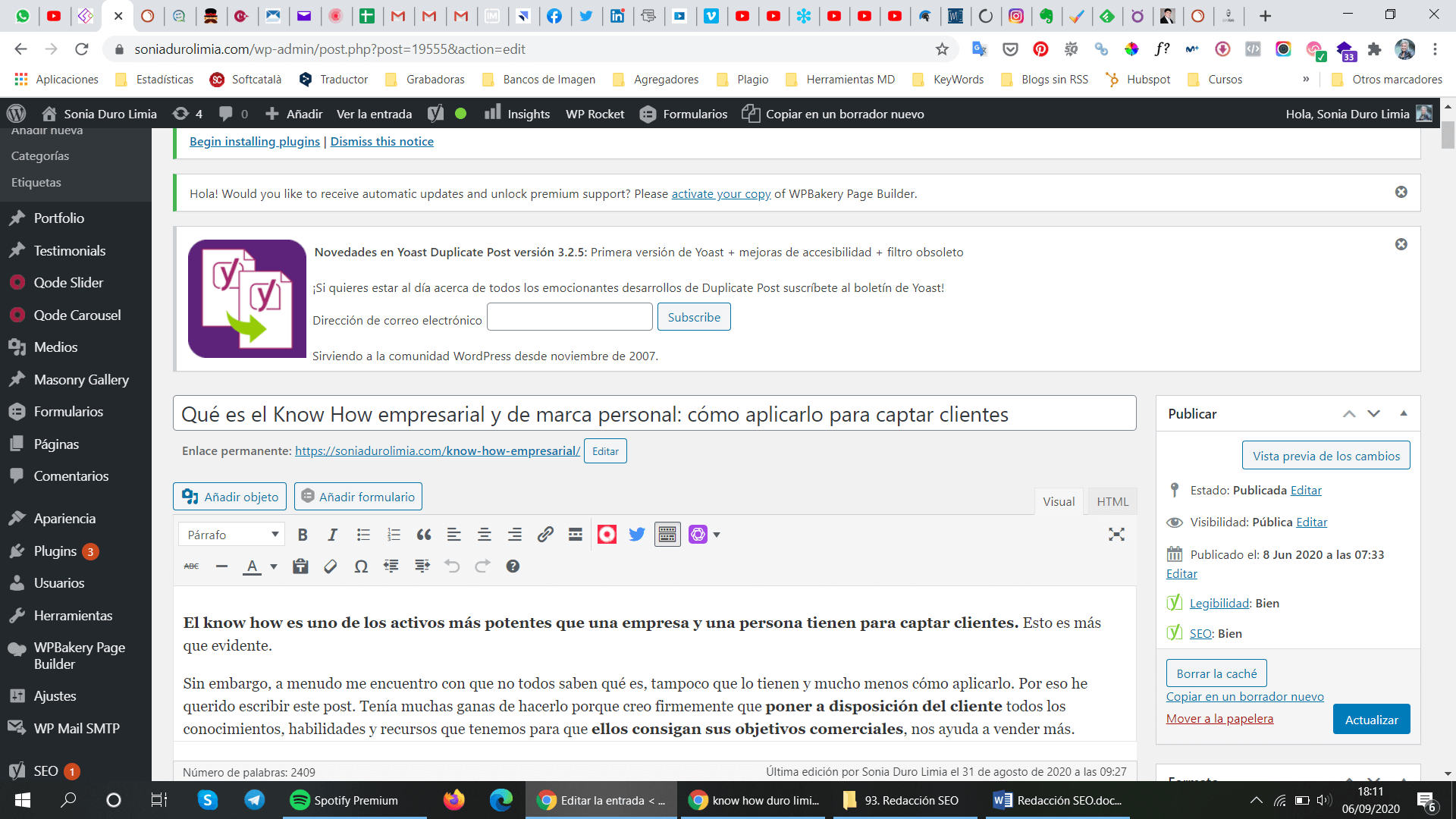 redaccion seo url amigable