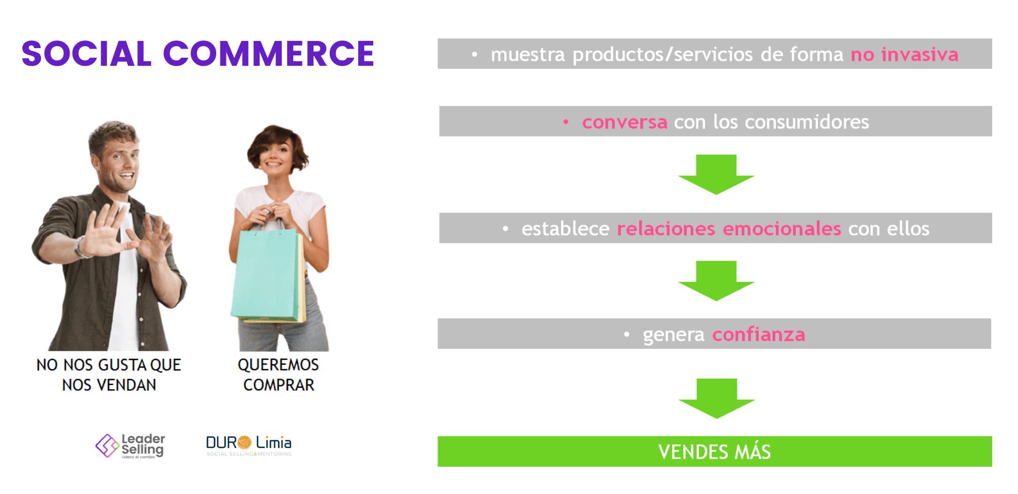 social commerce conversacion